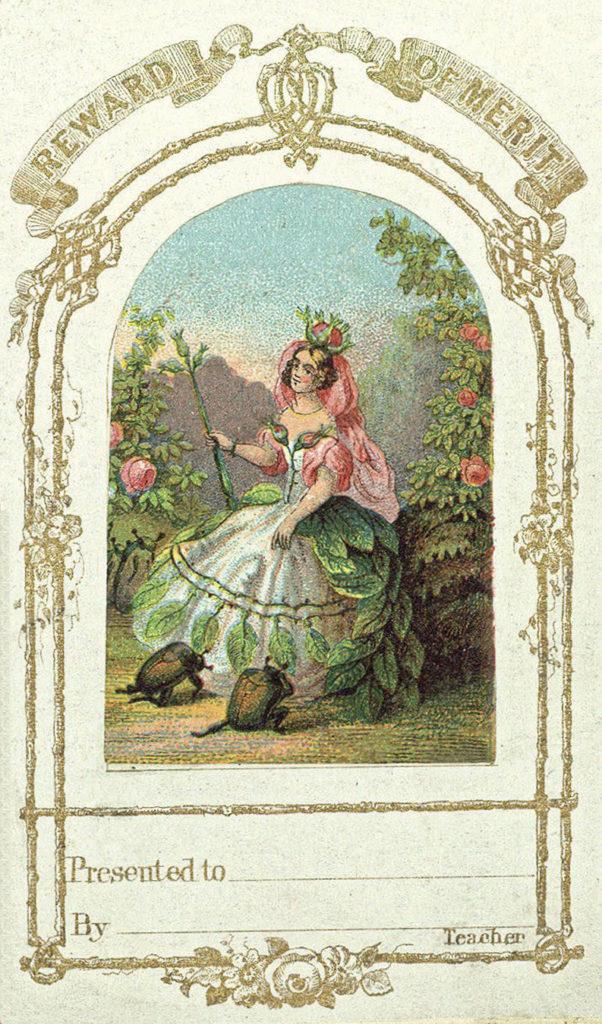 Children's Reward Card with Fairy