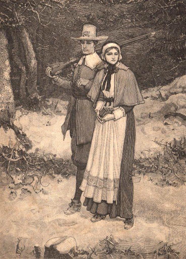 9 Free Clip Art Pilgrims Images - The Graphics Fairy