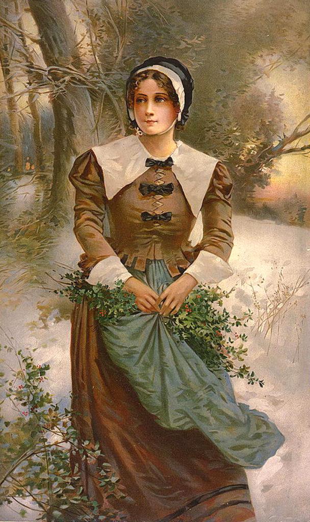 Pilgrim Lady Image