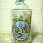 Button Jar with Labels Cathe Holden