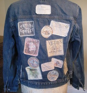 Craft Project – Cool Patches with Vintage Labels