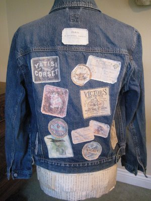 Craft Project Cool Patches With Vintage Labels The