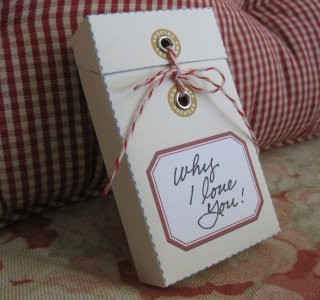 Craft Project – A Message Box for Mother's Day