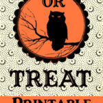Trick or Treat Printable Halloween Label