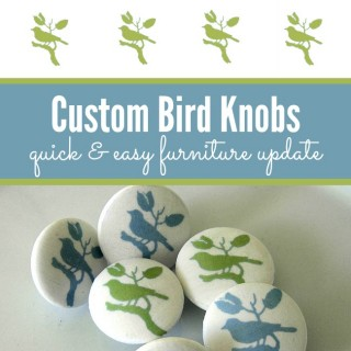 How to Make Custom Knobs – Birds