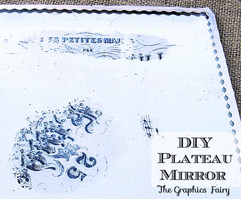 DIY Plateau Mirror