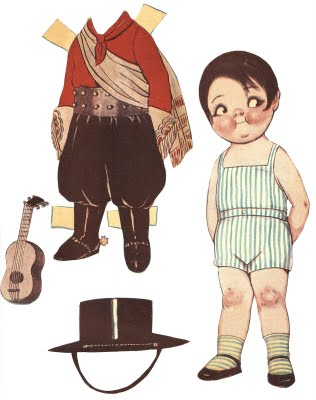 Paper Doll Clothes Printables Free printable - vintage boy paper doll ...