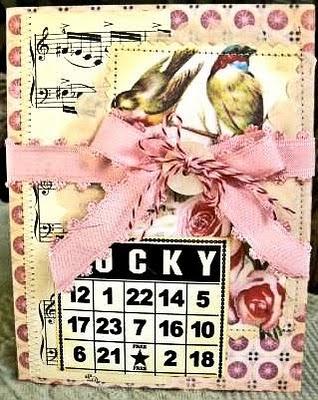 Lucky Handmade Card