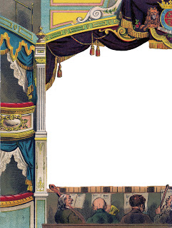 Diy Printable Make A Toy French Theater Theatre The