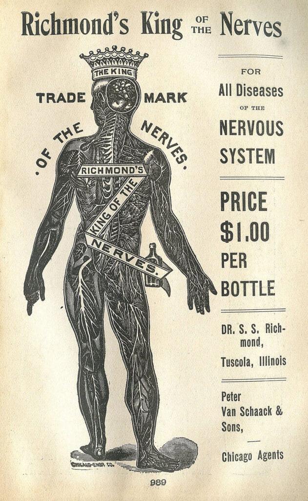 Nerve King Ad ephemera image