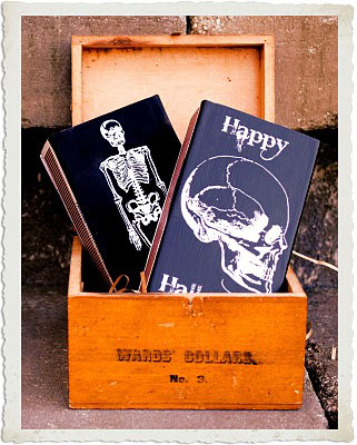 Halloween Party Favors Skeleton Match Boxes