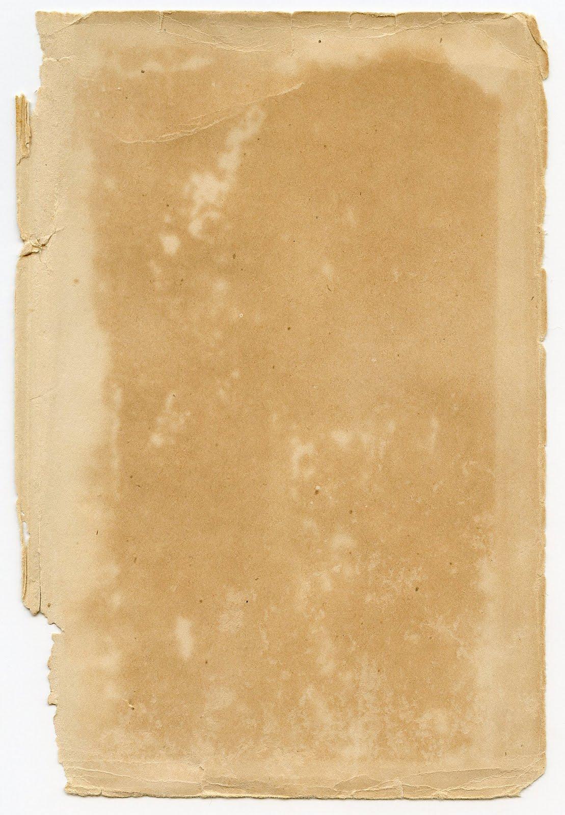 Antique Ephemera - Torn Paper Texture - The Graphics Fairy