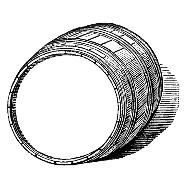 Beer Barrel Drawing This Barrel Has a Nice Blank