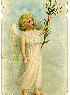 Easter Clip Art – Sweetest Vintage Angel