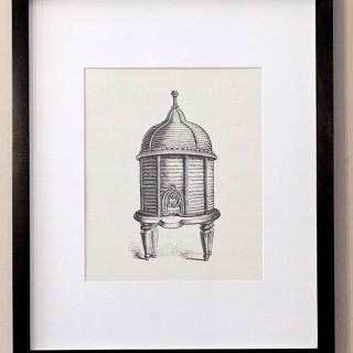 Framed Beehive Art