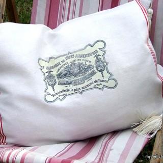 2 French Pillows – Garden Chic