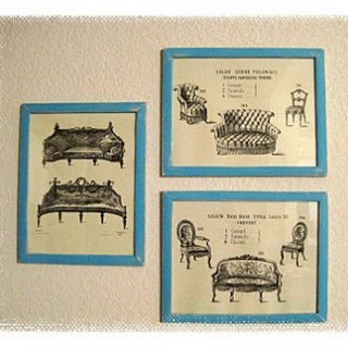Wall Decor – French Furniture Prints