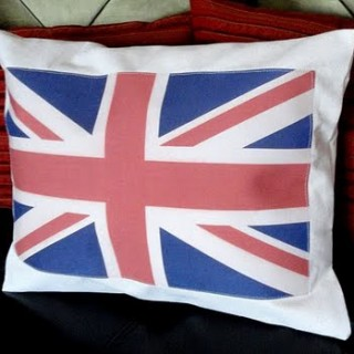 Union Jack Pillow – Printing on Fabric