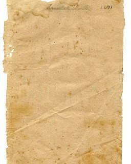 Vintage Ephemera Graphic – Torn Paper Texture