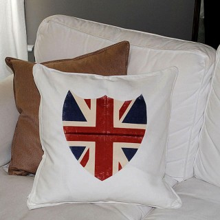 Best Iron On Transfer Paper! – Union Jack Shield Pillow and Printable