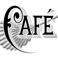 Cafe Clipart with Fan