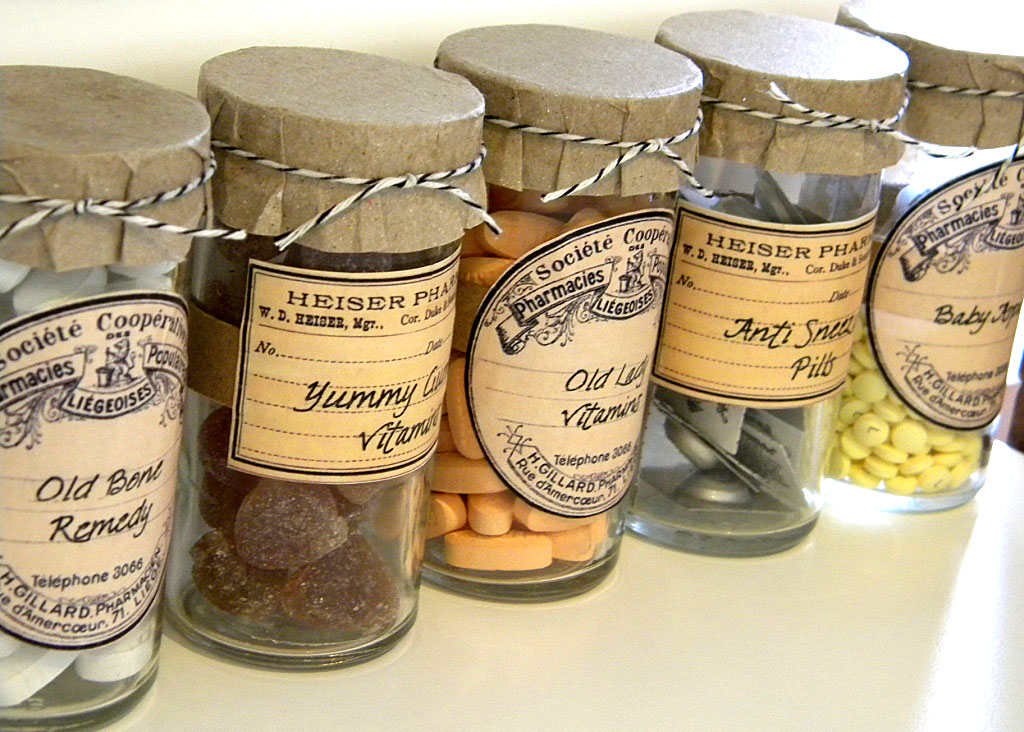 Halloween Apothecary Jar Labels