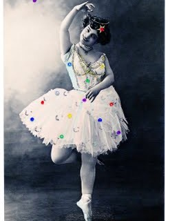 Old Photo – Super Pretty Ballerina with Sparkles