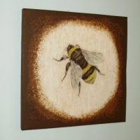 Transfer on Canvas Bee