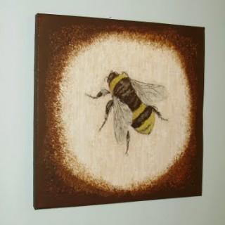 Bee Canvas Art