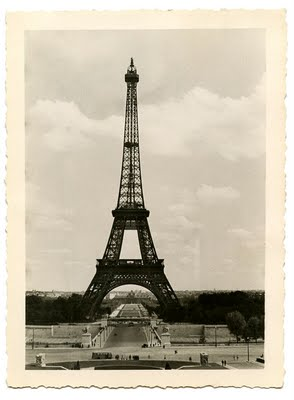 Vintage Image Eiffel Tower Old Photo The Graphics Fairy