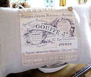 Fabulous French Pillow