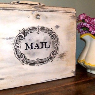 Mailbox Mod Podge Project