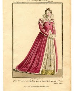 Instant Art Printable – Pink Queen – Opera Costume
