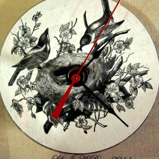 DIY CD Clock