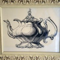 Teapot Wall Decor Art