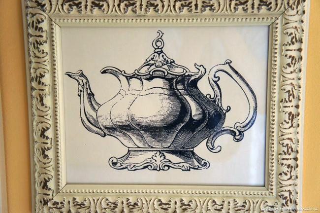 Teapot Wall Decor Art