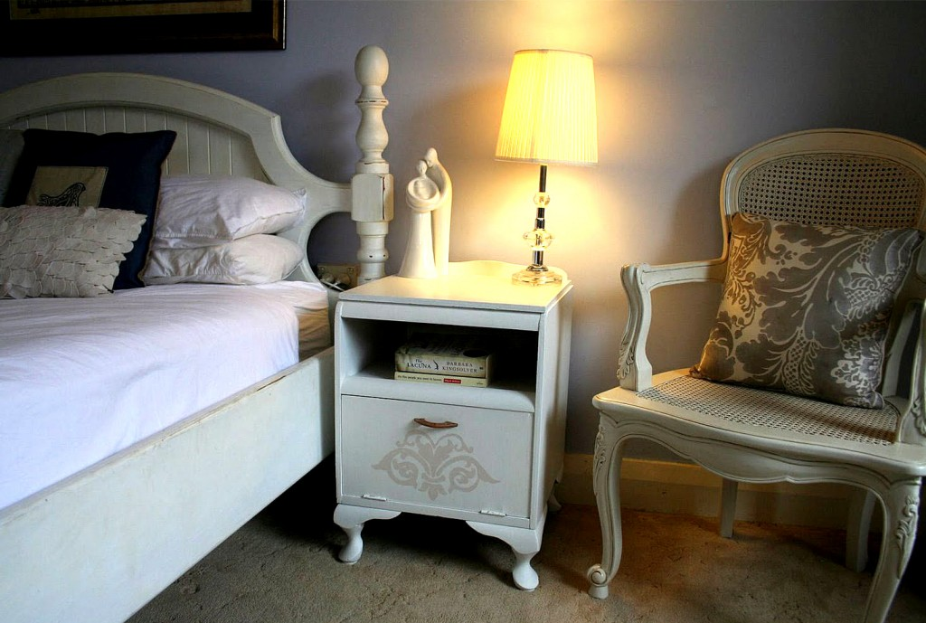 Bedside Painted Table