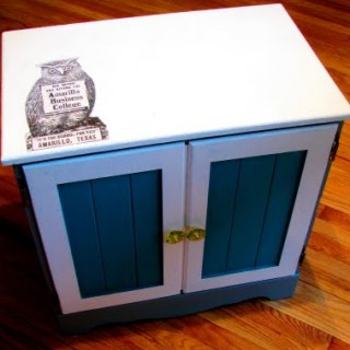 Adorable Owl Cabinet