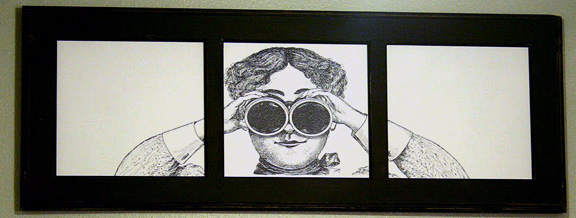 Peeping Tom Plaque