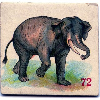 Vintage Images – Cute Animal Game Cards