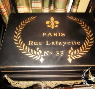 Beautiful Paris Jewelry Chest