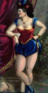 Vintage Clip Art – Sassy Saucy Showgirl