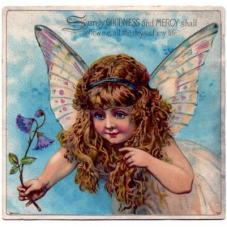 Vintage Graphic – Exceptionally Pretty Fairy Child
