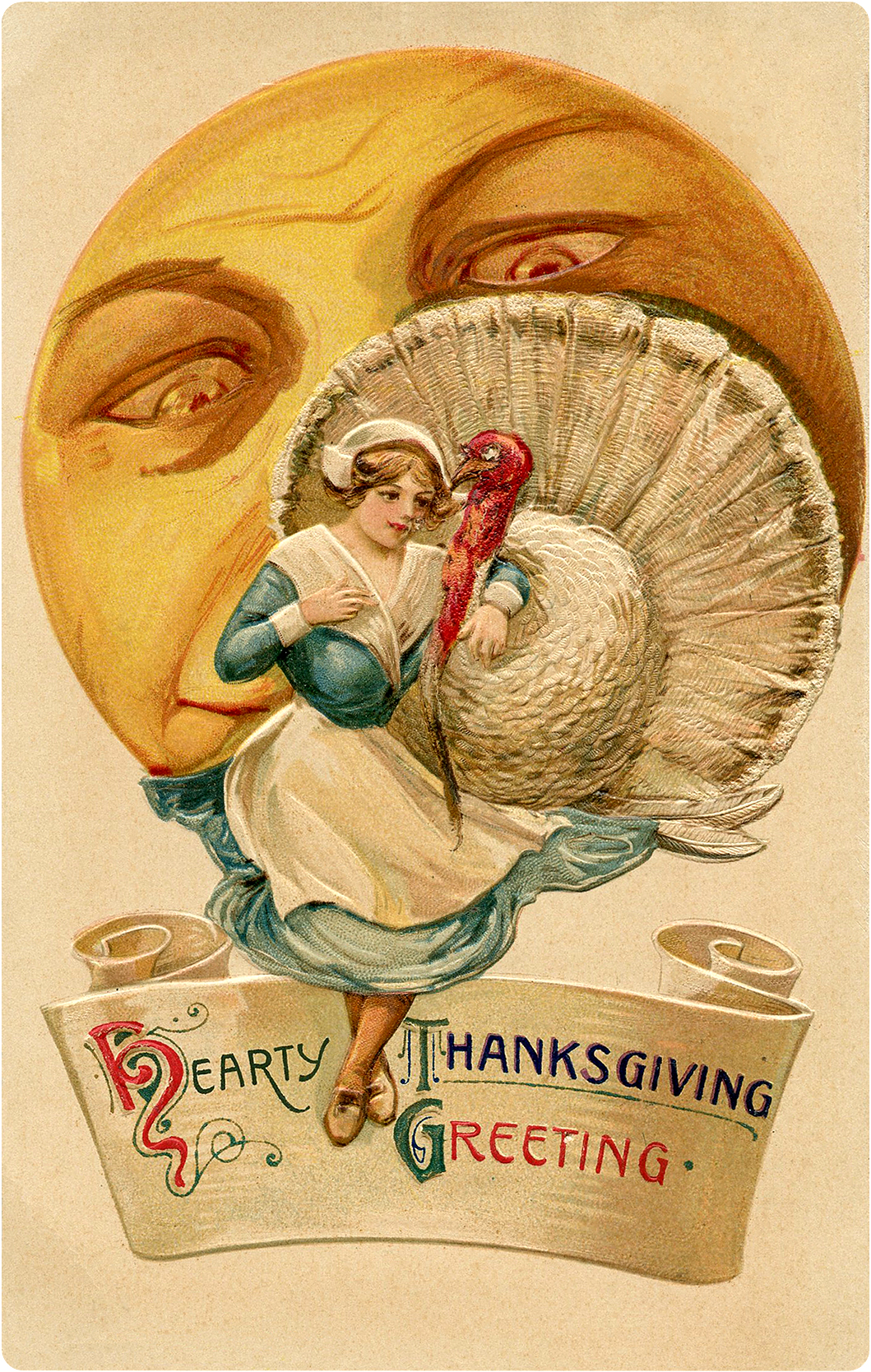 5 White Turkey Images , Vintage Thanksgiving! , The Graphics