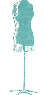 Retro Clip Art – Cute Dress Forms