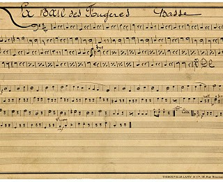 Vintage Clip Art – French Sheet Music