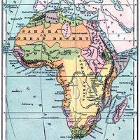 Africa+Map+Vintage+GraphicsFairysm