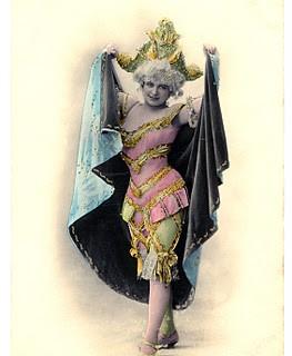 Antique Graphic – Fancy Dancer with Tricorn Hat
