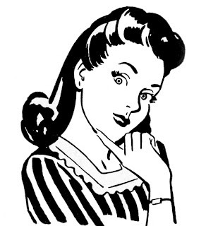 Retro Clip Art – Quirky Women