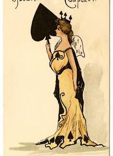 Vintage Ephemera – Queen of Spades